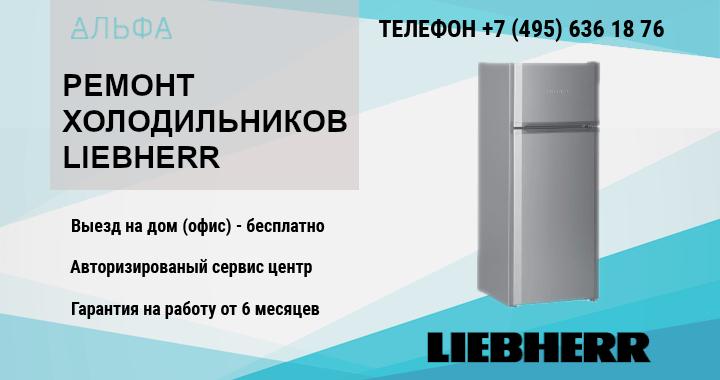 Ремонт холодильника Lievherr