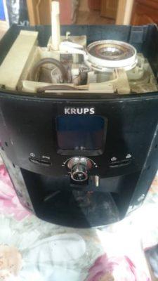 Окончательная сборка кофемашины Krups