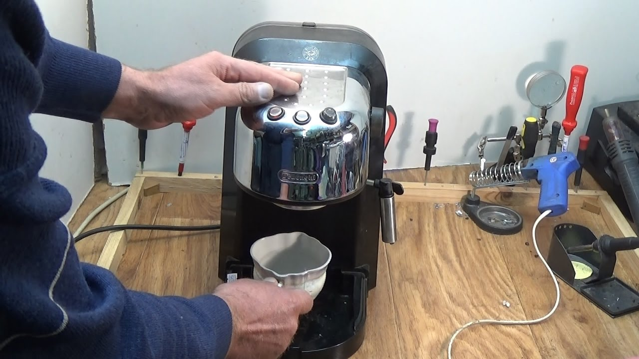 Основные коды ошибок в кофемашинах Delonghi