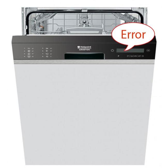 Код ошибки посудомоечной машины Аристон А 01
